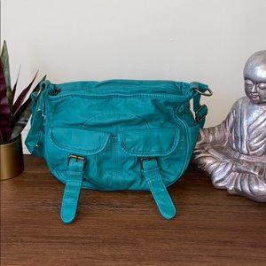 Green Shoulder Bag NWOT